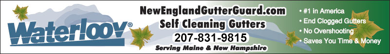 The best gutter cover in New England, Maine
